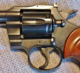 COLT OFFICERS MODEL MATCH TARGET REVOLVER .22 LR - 9 of 18