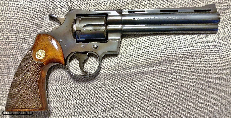Colt PYTHON 6 Inch  357 Magnum