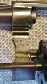 Smith & Wesson K-22 Masterpiece Pre 17 5 Screw with a 6 Inch Barrel and Diamond Grips- 18 of 19