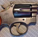 Smith & Wesson K-22 Masterpiece Pre 17 5 Screw with a 6 Inch Barrel and Diamond Grips- 12 of 19
