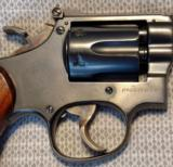 Smith & Wesson K-22 Pre17 5 Screw with a Target Hammer, Target Trigger, and Diamond Grips - 11 of 18