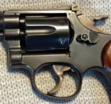 Smith & Wesson K-22 Pre17 5 Screw with a Target Hammer, Target Trigger, and Diamond Grips - 10 of 18