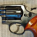 Cased Smith & Wesson 19-3 Pinned Barrel Texas Ranger with a Target Hammer, Target Trigger, and Target Grips - 10 of 22