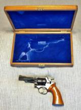 Cased Smith & Wesson 19-3 Pinned Barrel Texas Ranger with a Target Hammer, Target Trigger, and Target Grips - 20 of 22