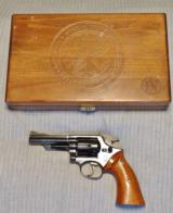Cased Smith & Wesson 19-3 Pinned Barrel Texas Ranger with a Target Hammer, Target Trigger, and Target Grips - 21 of 22