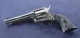 Colt Peacemaker 22with single cylinder chambered in .22lr and was manufactured in 1971. - 6 of 8