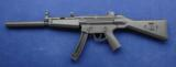 USED GSG – 5 chambered in .22lr and externally it very closely resembles the Heckler & Koch MP5