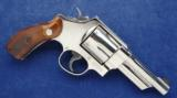 Smith & Wesson 21-4 Nickel chambered in .44 spl