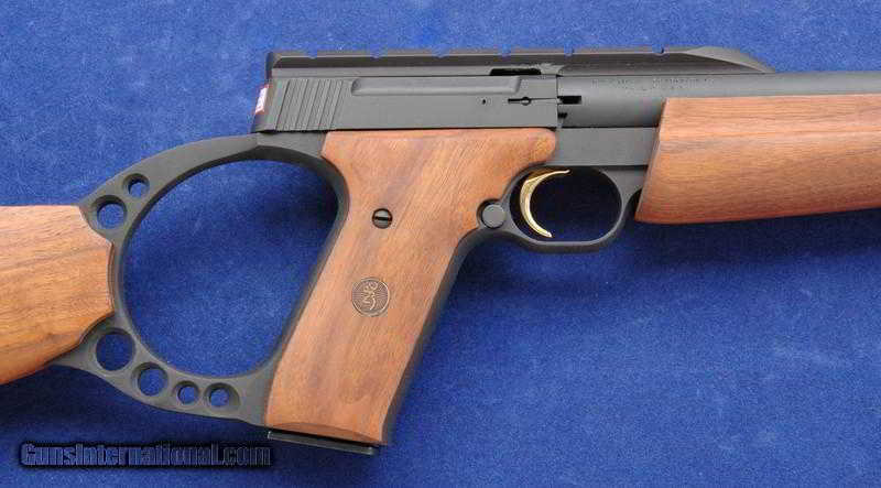 Browning Buckmark Target Rifle Chambered In 22lr
