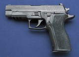 Sig P226 9mm pistol with complete Sig .22LR Conversion kit.