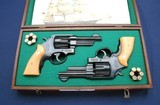 Consec pair of TR 22-4 new and unfired, custom case