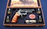 "Nicely cased S&W 25-9 4"" .45LC"