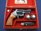 "Excellent S&W 27-2 3 1/2"" in custom Presentation case"