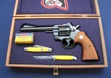 Nice blued Colt Officers Model Special .22