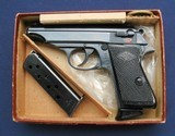 Mint Manurhin Walther PP in the original box