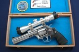 Very nice scoped S&W 629-3