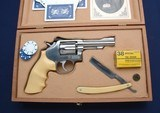 Custom cased used S&W Mdl 67-1 marked SPD