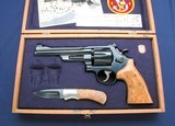 "Excellent S&W 27-2 6"" in a custom case"