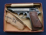 Excellent in box Manurhin/Walther PP in .32