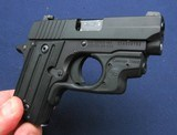 Sig P238 with laser grips and orig box - 5 of 6