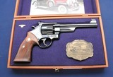 Custom cased, unfired S&W 24-5 with the box