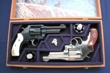 Cased pair of S&W Mdl 21-4