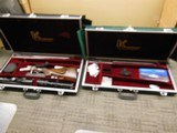 KRIEGHOFF CLASSIC DOUBLE RIFLE 375 H&H / 470 NITRO 2 CASES2 SCHMIDT& BENDER SCOPES 2 SETS OF RINGS AND BASES
