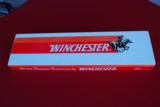 Winchester Double Express Rifle NIB. Test fired Only with Test Target.