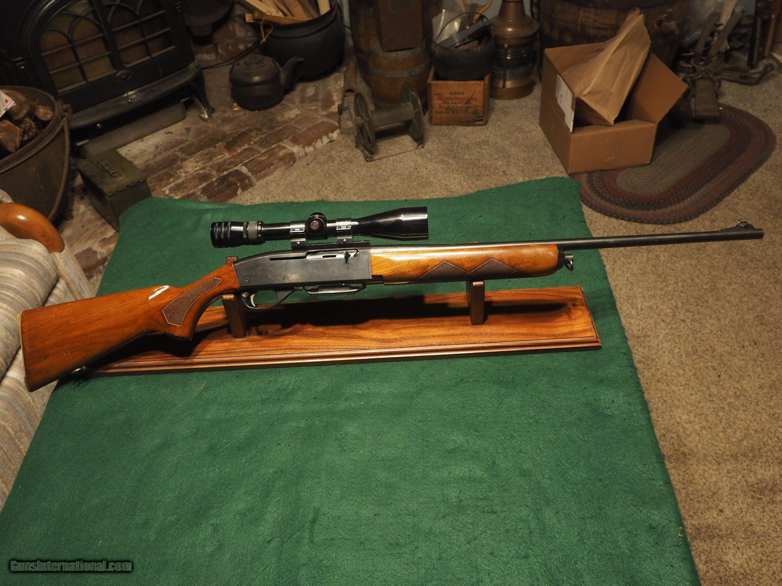 Remington 740 280 With 3x9 Redfield Scope