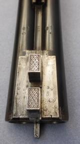 "Shotgun"" German"" Double Barrel Emil Kerner Suhl 16 gauge SxS dual trigger. - 13 of 15"
