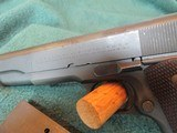 Colt Commercial 1911 A-1 45 acp 1935 manufacturing date - 10 of 15