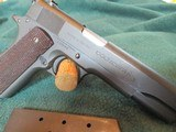 Colt Commercial 1911 A-1 45 acp 1935 manufacturing date - 9 of 15