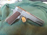 Colt Commercial 1911 A-1 45 acp 1935 manufacturing date - 3 of 15