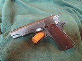 Colt Commercial 1911 A-1 45 acp 1935 manufacturing date - 2 of 15