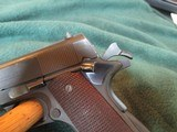 Colt Commercial 1911 A-1 45 acp 1935 manufacturing date - 12 of 15