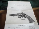 Smith & Wesson model 19-4 6 inch BOX with paper work - 4 of 6