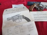 Smith & Wesson Model 60 stainless 38 special - 3 of 9