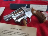 Smith & Wesson Model 60 stainless 38 special - 4 of 9