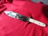Vintage Wostenholm Ivory handle Bowie