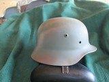 German WW 2 combat helmet
