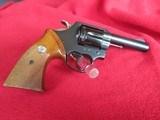 Colt Lawman 4 inch blue 357