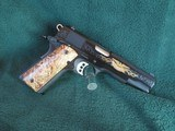 Colt one of 750 premier edition 45 acp perfect condition