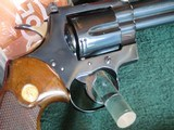 Colt Python 1966 6 inch blue. - 11 of 15