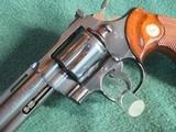 Colt Python 1966 6 inch blue. - 5 of 15