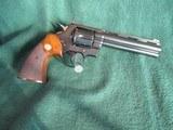 Colt Python 1966 6 inch blue. - 1 of 15