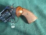 Colt Python 1966 6 inch blue. - 3 of 15