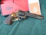 Colt Python 1966 6 inch blue. - 14 of 15
