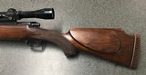 Griffin & Howe Winchester Model 70 Sporting Rifle.300 Weatherby. 1957 - 9 of 15