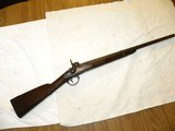 Civil War, Mexican War smooth bore musket cut to carbine. 69 cal D. Nipps Mill Creek. Pa.