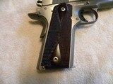 Colt 1911 Custom Combat Commander 45 match. stainless steel. - 7 of 20